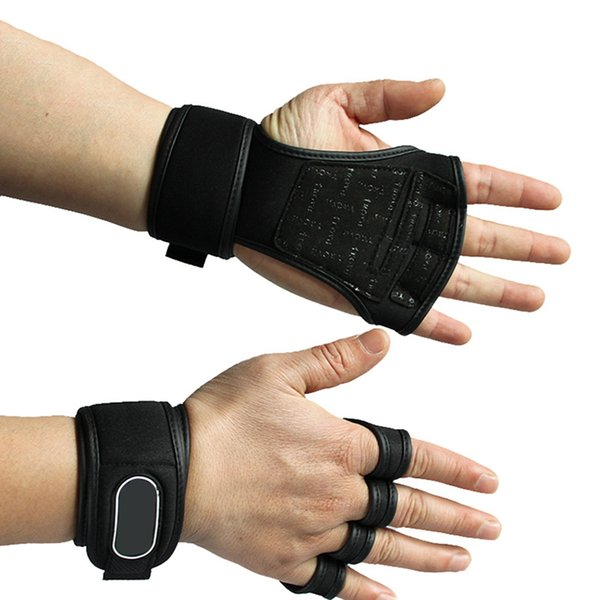 Women Fitness Gloves Weight Lifting Gym Workout Training Wrist Wrap Strap Men