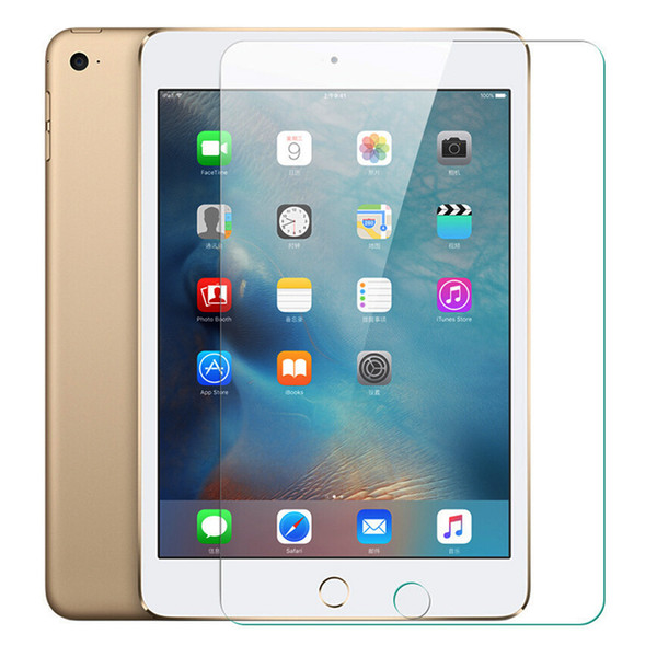 top popular Transparent Tempered Glass For iPad Air 2 Mini 2 4 1 3 5 6 Pro 10.5 9.7 7.9 Screen Protector Protective Film For iPad Pro 10.5 2019