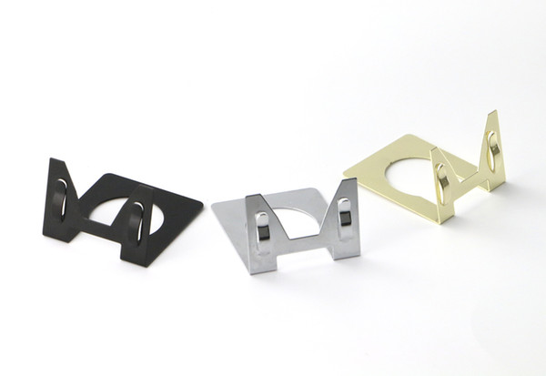 L Type POP Metal Stainless Steel Price Label Tag Paper Sign Card Display Clips Holders Stands For Bread Shop Promotions 50pcs