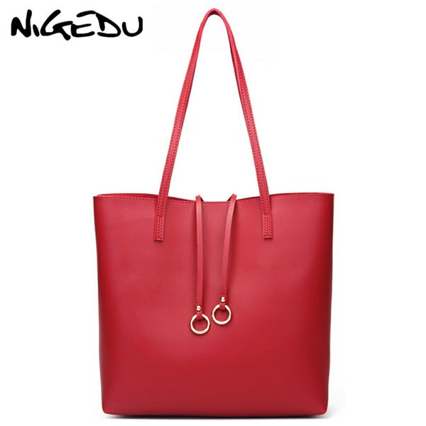 Casual Large Capacity women Handbag PU Leather Lady Shoulder Bag tassel design Big Tote bags Female Shopping Bag bolsa feminina
