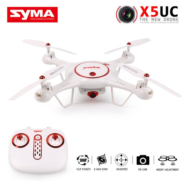 Original Syma X5UC RC Drone With 2.0MP HD Camera RTF RC Quadcopter with Headless Mode and Barometer Set Height Function