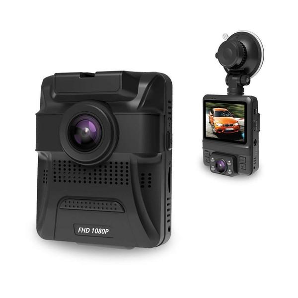 Original Mini Doppelobjektiv Auto DVR Dash Cam Vorne Full HD 1080 P / Hinten 720 P Video Recorder Auto Kamera Nachtsicht GPS