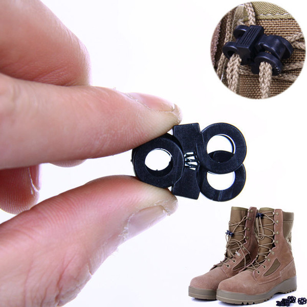Camping Travel Kits Rapid Shoelaces Buckle Convenient Antiskid Shoes Molle Tactical Backpack for SHOES BACKPACK Outdoor Tools SC084