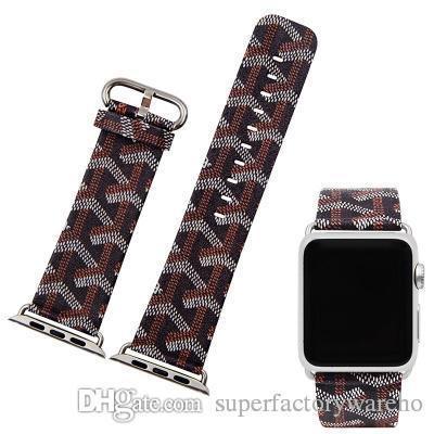 1 stücke für apple riemen armband armband klassische klassische armband 1 2 3 generation universal malerei anti-schlange muster 38mm 42mm