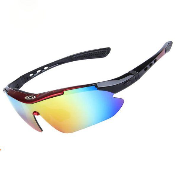 SPEIKE Myopie Sport Polarisierte Sonnenbrille Frauen Männer Radfahren Gogges SP0868 Austauschbar 5 Objektiv Jawbreaker Stil Radfahren Brillen