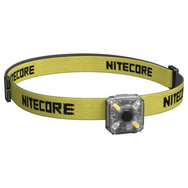 2017 NEW NITECORE NU05 KIT 35 Lumens White/Red Light High Performance 4xLEDs Lightweight USB Rechargeable Outdoor Headlamp Mate