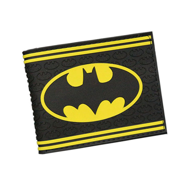 DC Movie Hero Bat Mann Anime Männer Geldbörsen Dollar Preis Kurze Feminino Geldbörse Geld Foto Balsos Kartenhalter Für Jungen Mädchen Geschenk