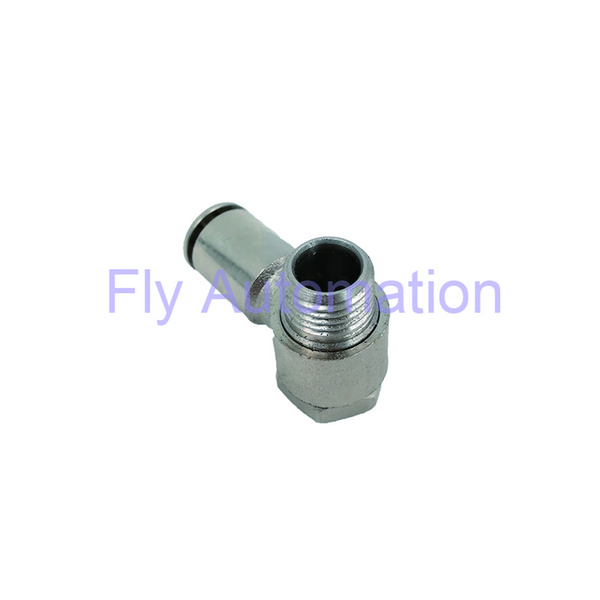Pneumatic Tube Fittings CAMOZZI 6622 Silvery Right Angle Joint Complete BSP Swivel Single Banjo Elbow Connector