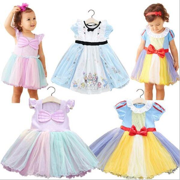 Baby Kids Clothing 2018 children's clothing new Alice princess dress girls dress children's Halloween costume children's A-line dress