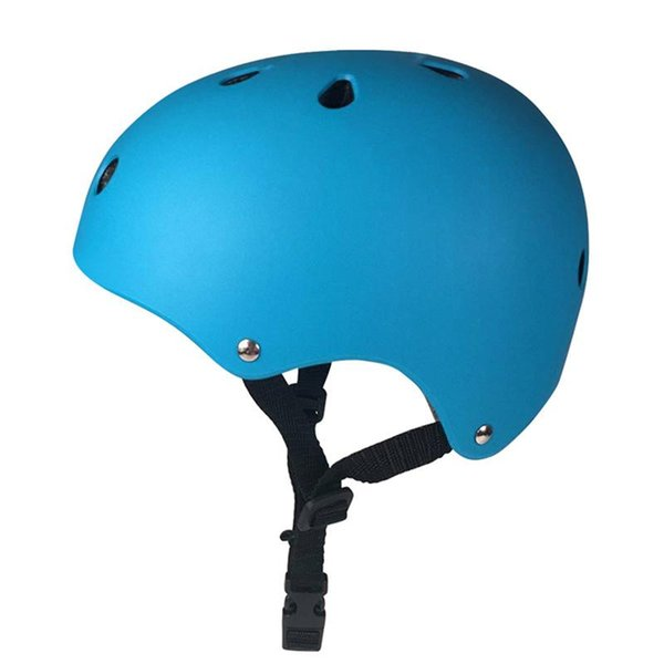 Impact Resistance Skate Scooter Skateboard Stunt Bike Crash Helmet Protective Gear for Adult and Kids (Blue)