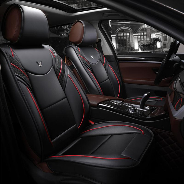 Best Car Seat Covers >> Universal Car Accessories Interior Car Seat Covers For Sedan Full Surrounded Design Durable Pu Leather Seats Covers For Suv Best Seat Covers For Cars
