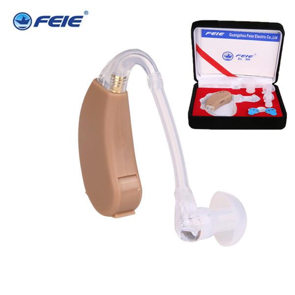 Livraison gratuite Drop Hearing Aid Fournitures médicales pour la surdité Invisible Audioprothèses Analogue Derrière L'oreille S-268