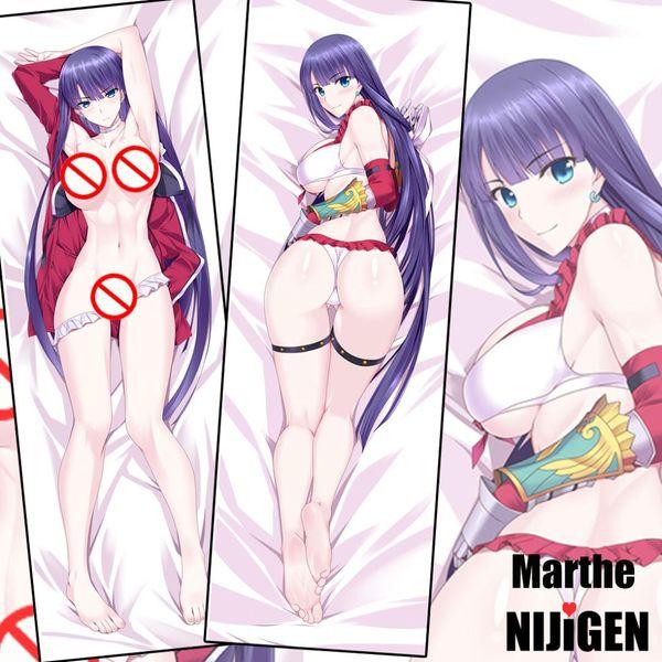 Destino Grande Ordem FGO Marthe Governante Sexy Bonito Anime Dakimakura Decorativo Fronha Abraçando O Corpo