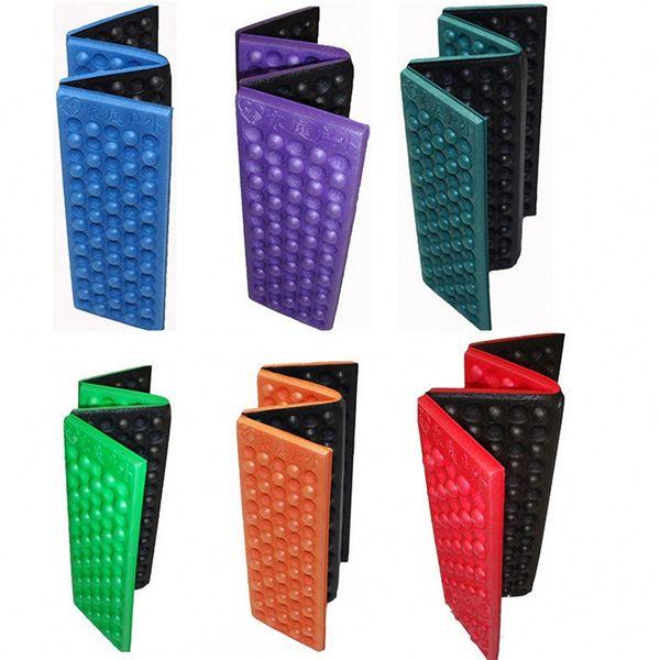 top popular Hot Outdoor Portable Foldable XPE Foam Waterproof Cushion Garden Cushion Seat Pad Chair for outdoor Cushion T1I124 2019