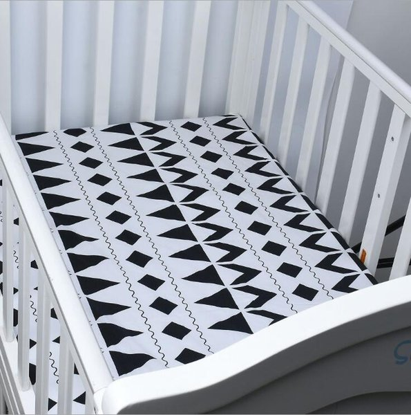 top popular free shipping infant standard crib sheet baby boys and girls bedding sheets full size many designs 2021