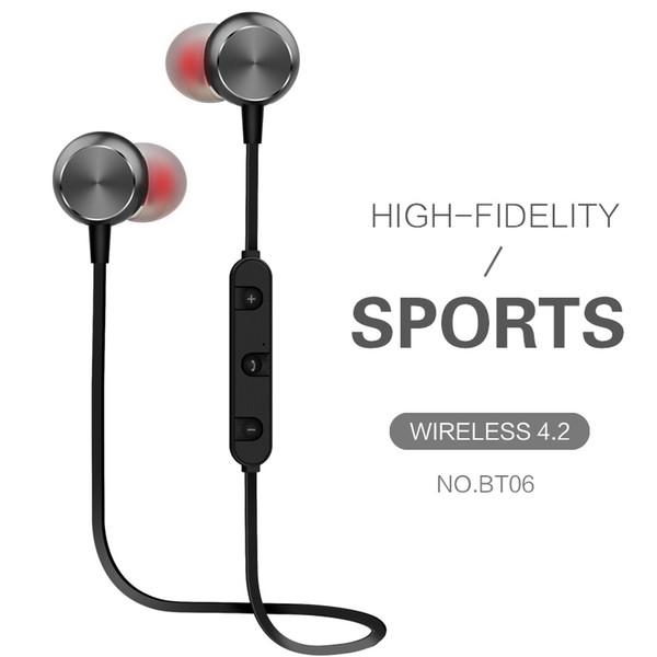 Magnetische drahtlose Bluetooth-Kopfhörer-Ohrhörer Sport-Schweiß-Beweis-Kopfhörer bester Kopfhörer für iPhone Xr Xs maximal für Telefon mit Kleinpaket