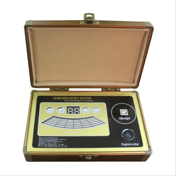 Original software 6th generation mini size quantum resonance magnetic analyzer full body health scanner machine with 52 reports