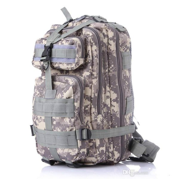 wholesale Trekking bag Outdoor camouflage mountaineering bag 3p military Tactical Backpack laptop Molle Rucksacks camouflage backpack