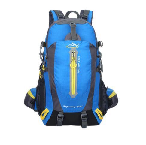 40L Waterproof Tactical Backpack Hiking Bag Cycling Climbing Backpack Laptop Rucksack Travel Outdoor Bags Men Women Sports Bag