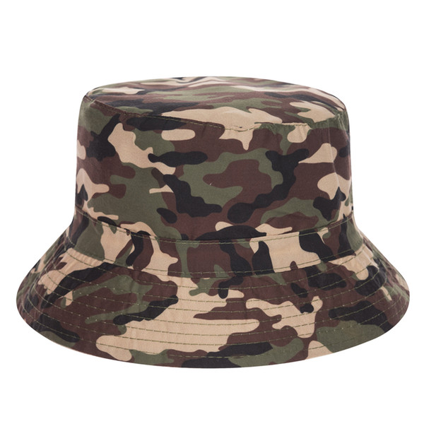 Young Girls Fashion Harajuku Flat Bucket Hats Printed Moro Marble Style Beach Hat Hip Hop Casual Cops For Women
