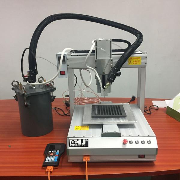 Macchina di rifornimento dell'olio denso automatico per la macchina di rifornimento dell'olio della sigaretta dell'atomizzatore del carro armato di Atomizzatore del carro armato di 92A3 AC1003 TH205