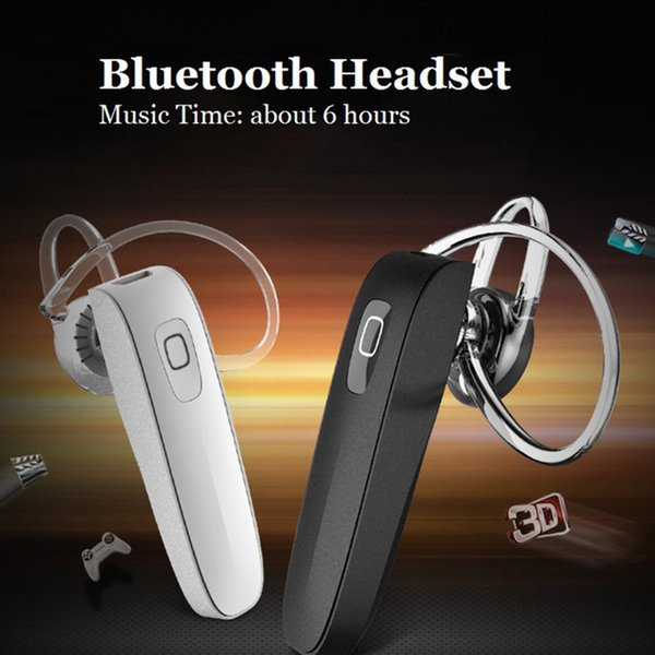 Mini Bluetooth Headset Stereo Wireless Earphone with HD Microphone Handsfree Headphone for iPhone Xiaomi Samsung Mobile Phone