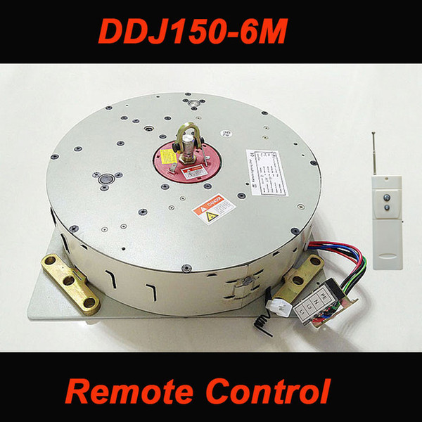 DDJ150 150KG 6M Auto Remote-controlled Chandelier Hoist Lighting Lifting System Electric Winch Lamp Motor AC 85-265V