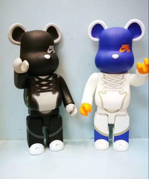 11 Pulgadas Be @ rbrick 400% Nueva moda de la marea Bearbrick PVC Figura de Acción Modelo de Juguete de Colección para amigo regalo de amor