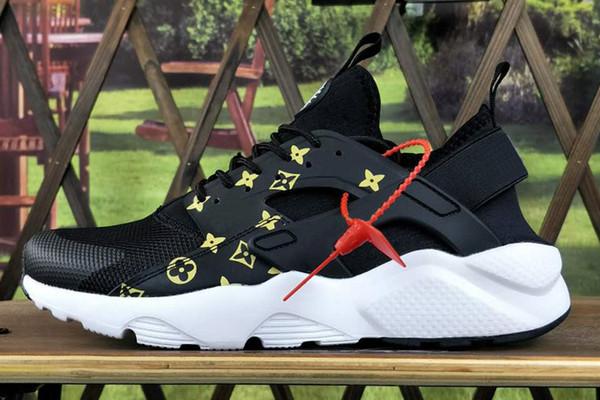 cb6229b07b28 2018 New Air Huarache RUN 4.0 Ultra Running shoes Huraches trainers for men  5 colors shoes
