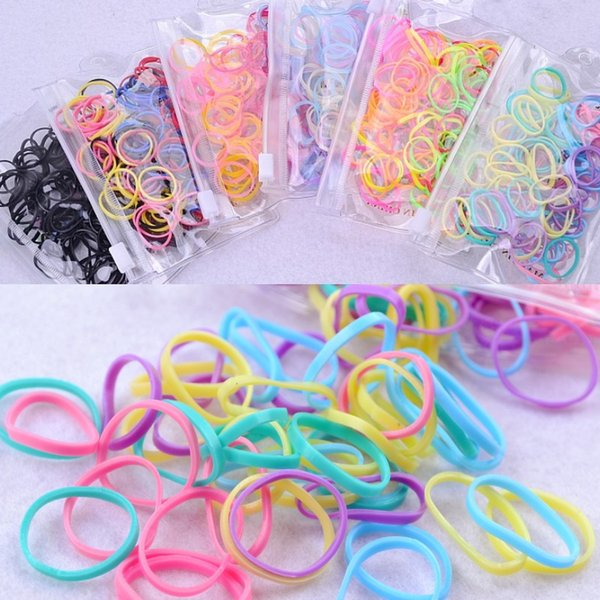 Círculo colorido niñas bonitas hairbands