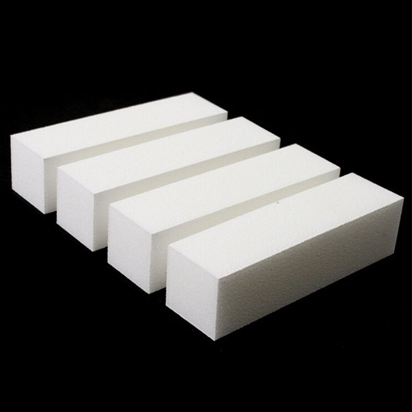 10 Pcs/lot Nail Art Buffing File Block Pedicure Manicure Buffing Sanding Polish White Nail File Art Tips