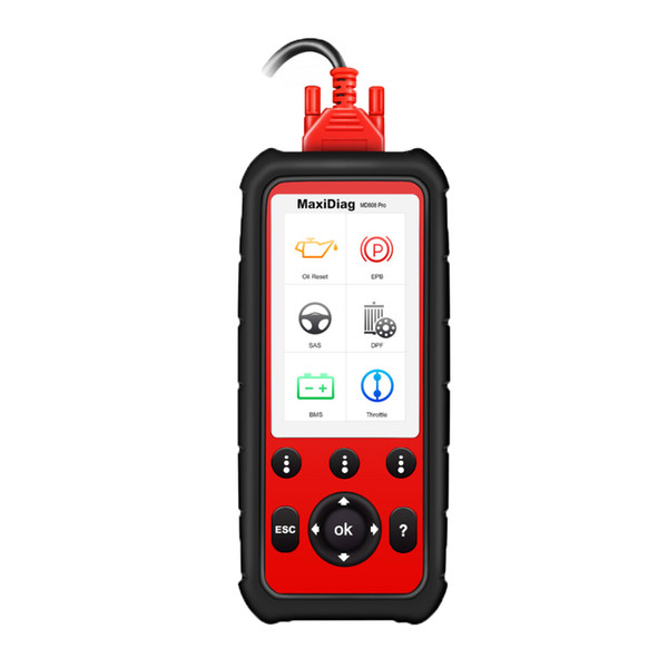 Autel Maxidiag MD808 PRO MD808 Diagnostic Scanner OBD2 OBD Full System Car Diagnsotic Tool Support BMS/Oil Reset/SRS/EPB/DPF