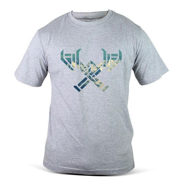 8101-GY League Of Legends Games Battle War Famous Wear Grey Men Tee T-Shirt
