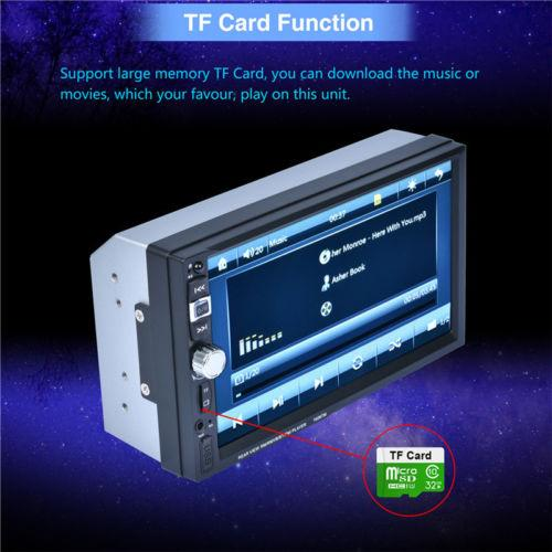 2018 Car Bluetooth Mp5 Player 7 Touch Screen 7026 Rear View Camera  Autoradio 2 Din From Daw54dsc12w32, $20 1   Dhgate Com