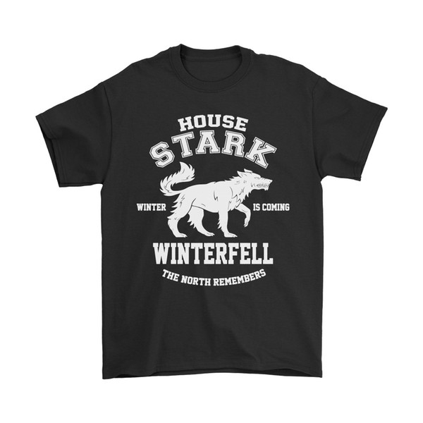 Game Of Thrones House Stark Winterfell The North Remembers Shirts