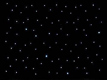 4 m X8m LED starlight cortina de fundo LEVOU Pano de Fundo Estágio LEVOU Estrela pano Branco Leds + Pano Preto para DJ Pun, Palco Do Casamento
