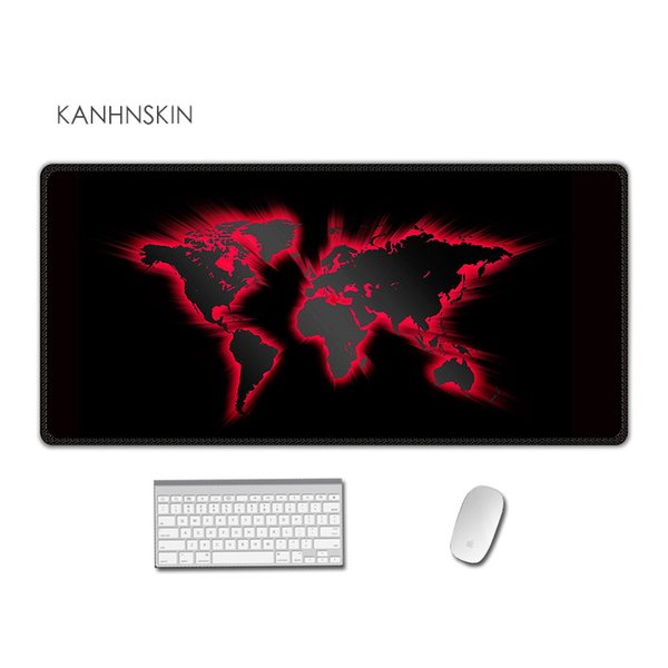 High speed new  gaming mouse pad 90x40cm edge locking mousepads for cs go world of tanks dota LOL