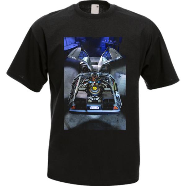 Regreso al futuro DeLorean Petersen Automotive Museum - OVERHEAD Camiseta para hombre