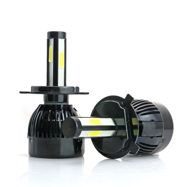 Motorcycle headlights H1 H3 H4 H7 H11 9005 9006 COB Led Bulb Car lamp 12V Bright Automobile lights high quality 8000lm