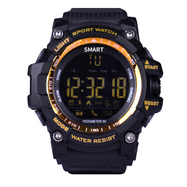 Smart Watches 2018 New EX16 Relogio Multifunction Waterproof Remote Camera  Best Price For Android IOS Watch Smartwatch Gear Smartwatch Gear Fit From