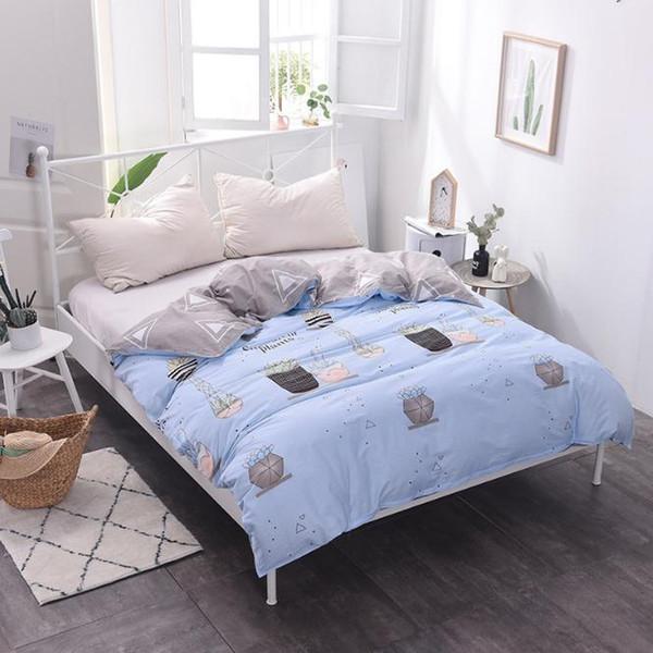 Impressão dos desenhos animados de Algodão Capa de Edredão consolador capa de cama colcha quarto220X240 cm 230x200 cm 160x210 cm 180x220 cm