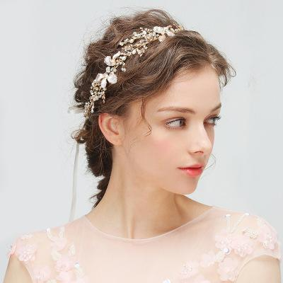 Europe And America Explosions Bridal Jewelry New Hair Band Headband Handmade Diamond Hair Ornaments More Style Into The Shop To Choose Hair