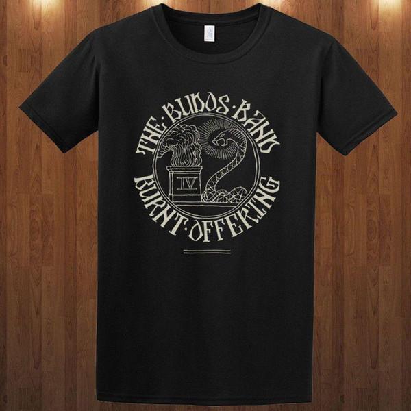 Budos Bant Tee Instrumental Band Psychedelic Kaya T-shirt Erkekler Kısa Kollu T Gömlek Üst Tee Kısa Kollu Marka