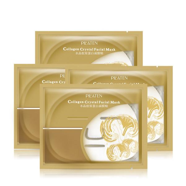 60g Pilaten Collagen Crystal Facial Mask Whitening Anti Aging Anti Wrinkle Moisturizing Skin Care Face Masks Cheap On Sale