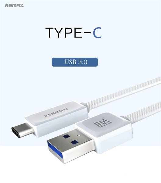Type C Remax Type-C Micro USB Data Cable OnePlus Two USB 3.0 Output 2.1A Sync Fast Charging Data Cable Not Original 300pcs dhl free shipping