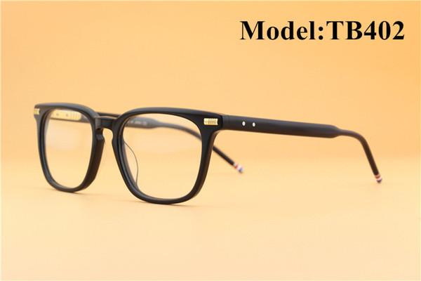 TB402 2018 Mode rétro cadre de lecture et lunettes de myopie Lunettes de vue optiques pour hommes et femmes