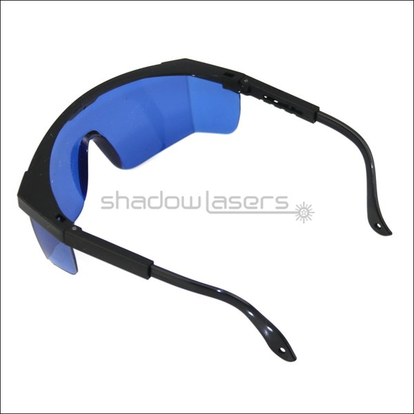 SDLasers T8S8 Safety Glasses for 638nm Orange-Red Lazer Ray 650nm Red Laser Pointer 580-760nm UV Lasers Eye Protection Goggles