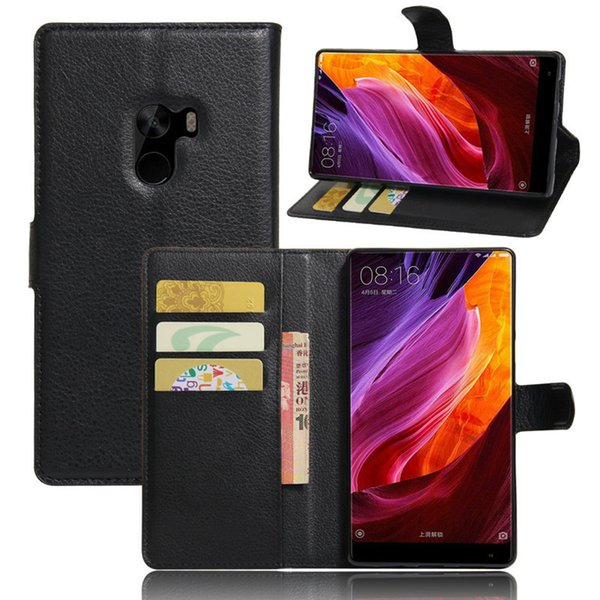 For Xiaomi Mi Mix Case 6.4 Inch Luxury Wallet PU Leather Back Cover Phone Case For Xiaomi Mi Mix Case Flip Protective Bags Skin