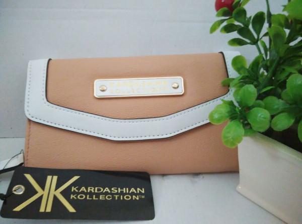 2019 Fashion KK Women Wallet Female Purse Money Bag Long Women Leather Purse Card Phone Wallet Tassel Bow Cute Cat Pendant Letter Zipper
