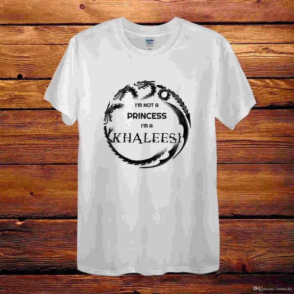 Game Of The Thrones Conception Khaleesi T-Shirt Hommes Unisexe Femmes Ajusté Cadeau Amusant